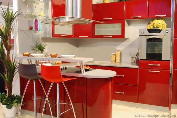 kitchen-cabinets-modern-red-026-s46564024x2-peninsula-seating-bar-height-glass-doors-small